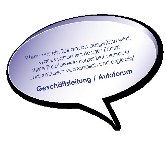 Testimonial AutoForum zum Training Führungskraft heute mit Melters und Partner