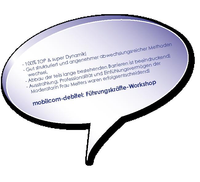Testimonial Training Konfliktlösung Melters und Partner mit mobilcom debitel