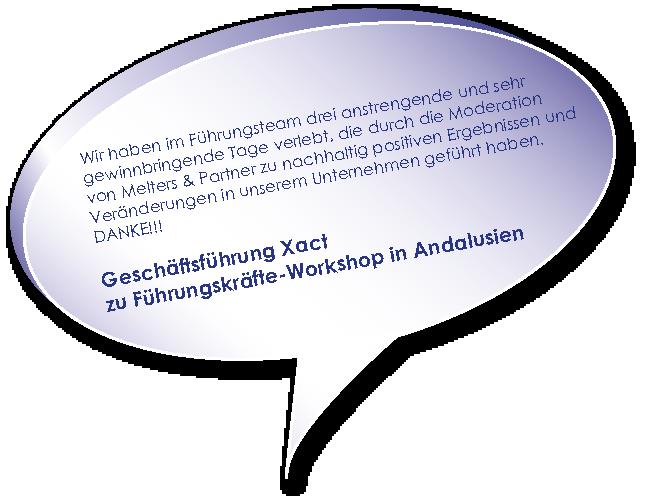 Testimonial der Xact zu Schwierige Unternehmenssituation meistern Melters und Partner