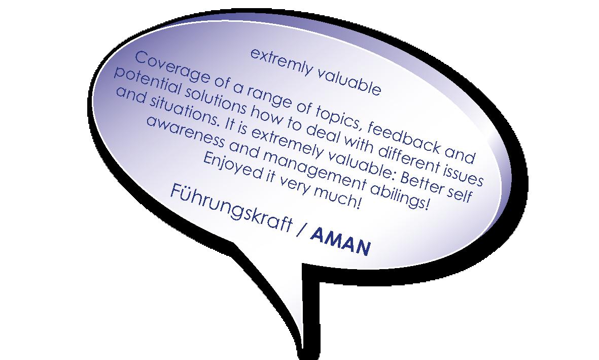 Testimonial von Aman zu Coaching für die erfolgreiche Führungskraft heute mit Melters und Partner