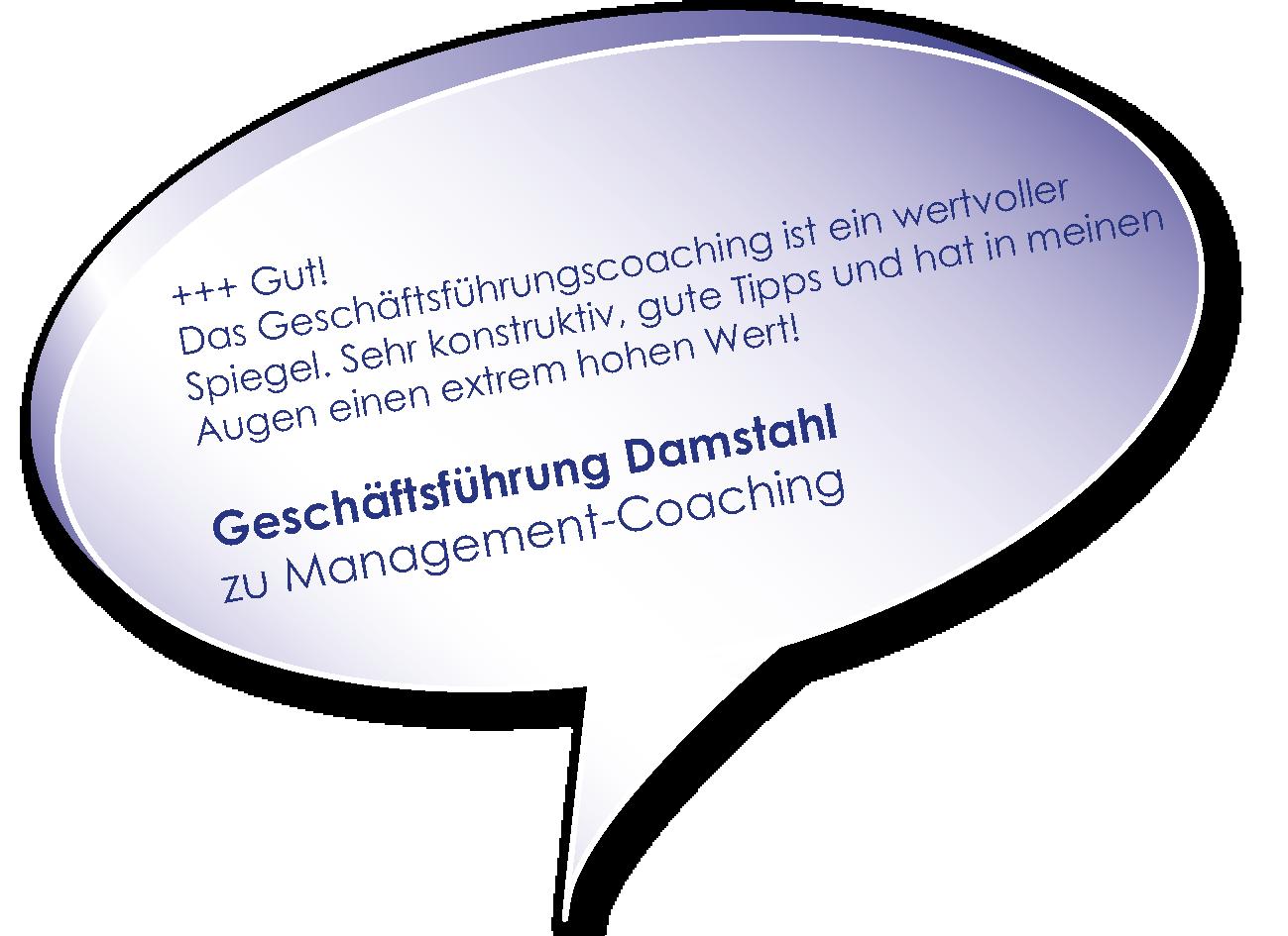 Testimonial der Damstahl GmbH Geschäftsführung zum Management-Coaching mit Melters und Partner