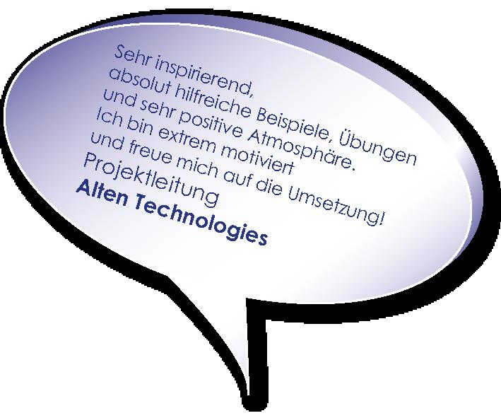 Testimonial von Alten Technologies zum Coaching zu Projektmarketing mit Melters und Partner