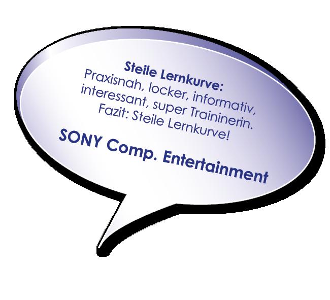 Testimonial von Sony Entertainment zum Hybrid-Kurs Verhandlungssicher im Business mit Melters und Partner